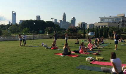 So you want to try yoga but you're worried about the price. 18 new student specials at Charlotte studios