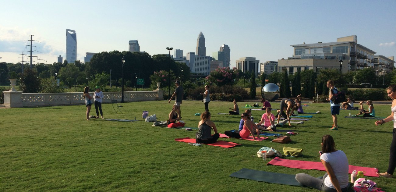 Your guide to 40+ yoga studios in the Charlotte area, including styles and pricing