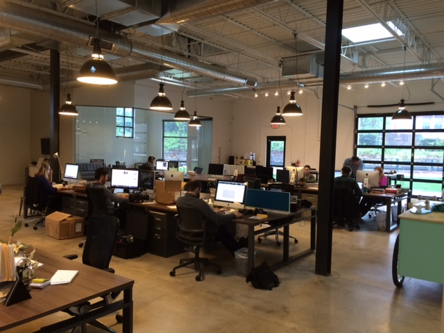 inside mode office space in charlotte