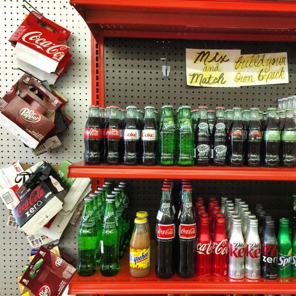 soda wall belmont general store