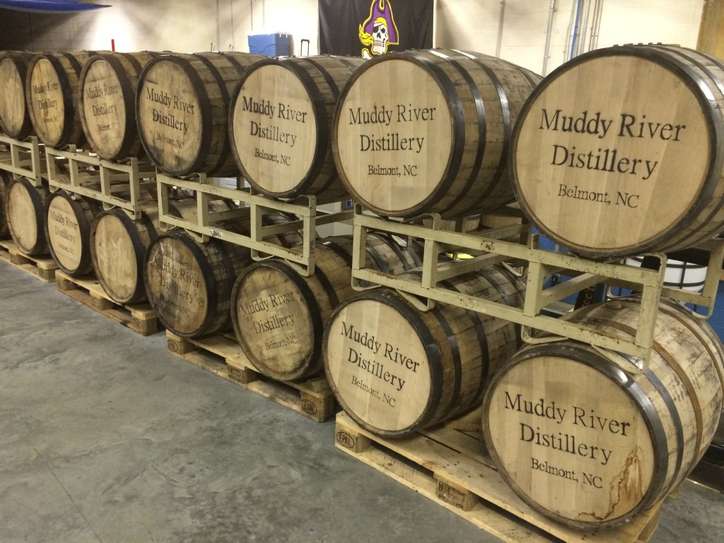 muddy river barrels