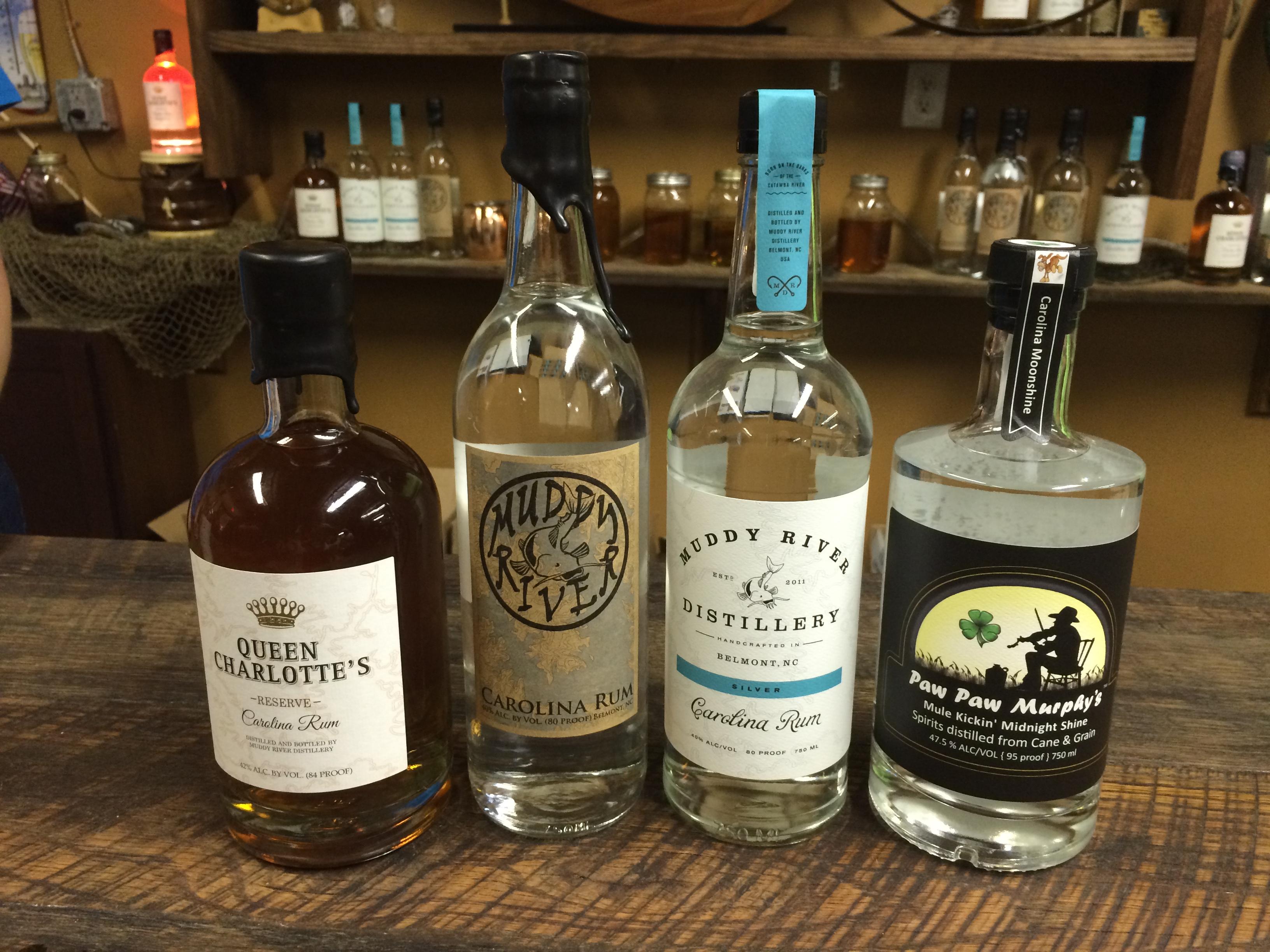 Muddy River Distillery S Handcrafted Carolina Rum Crushes