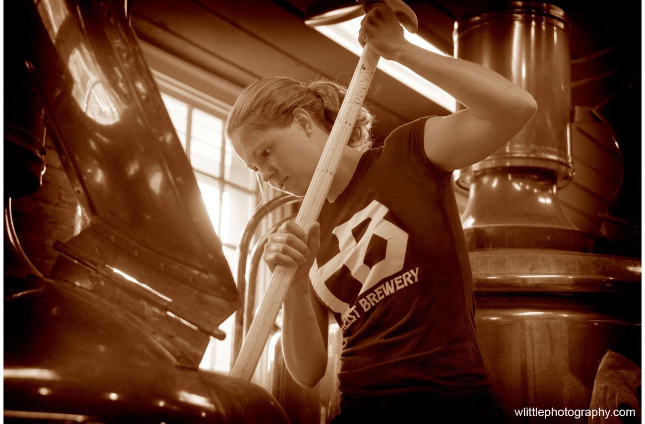 Meet Charlotte's only female brewer, Alexa Long