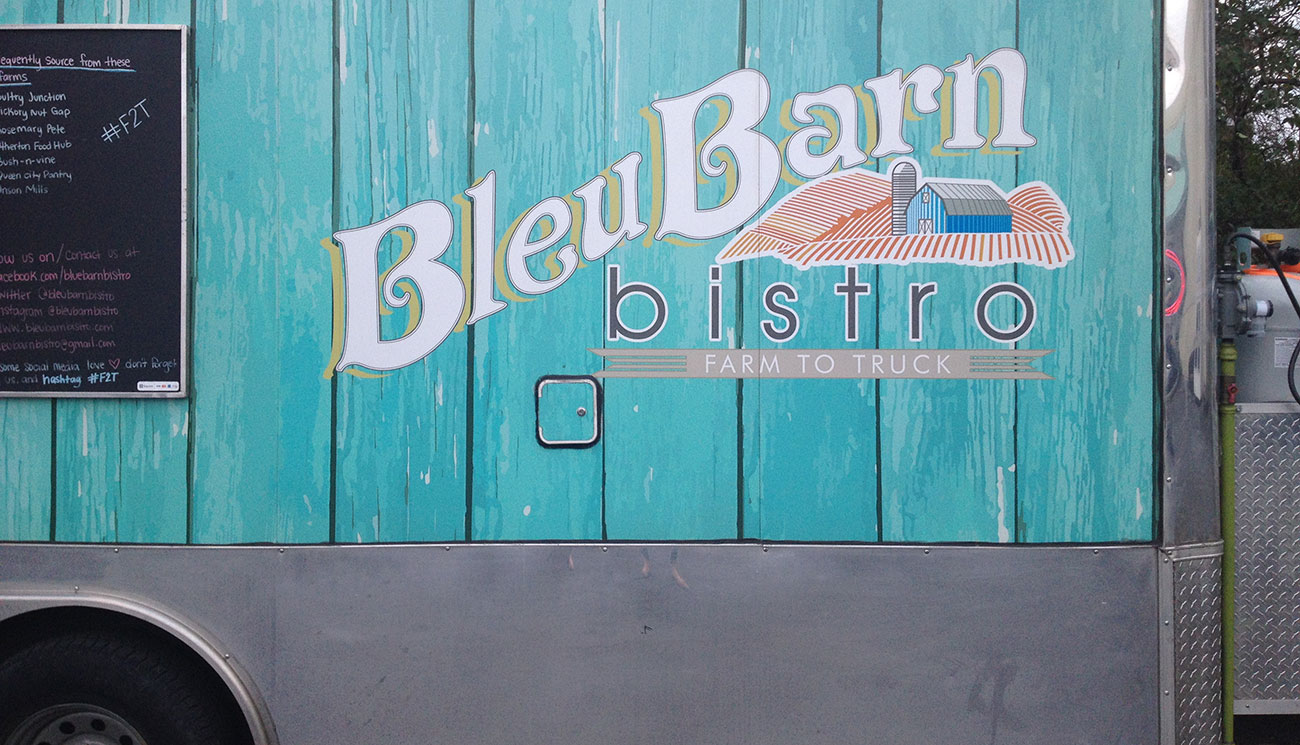 Bleu Barn Bistro takes food from farm to food truck