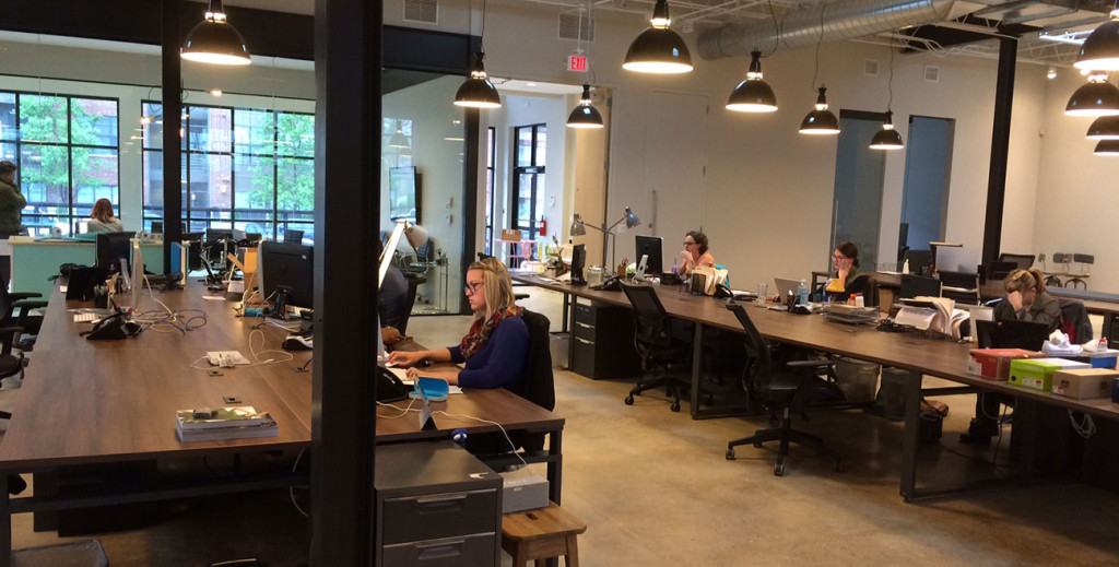 MODE is settling into their new office space and it's gorgeous