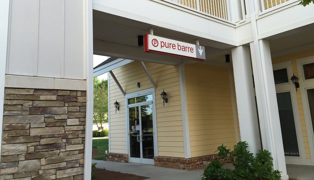 Add Pure Barre to the list of things in life harder than you thought