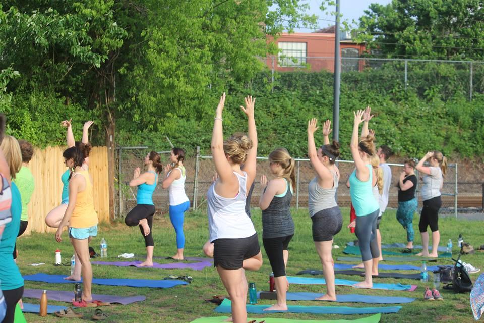 Sycamore Brewing yoga