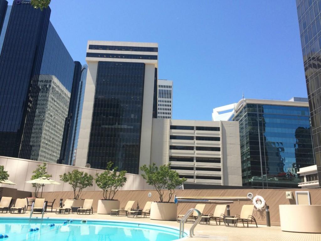 Omni Hotel Charlotte pool