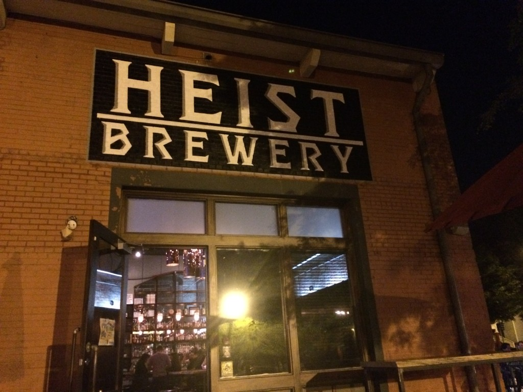 heist brewery