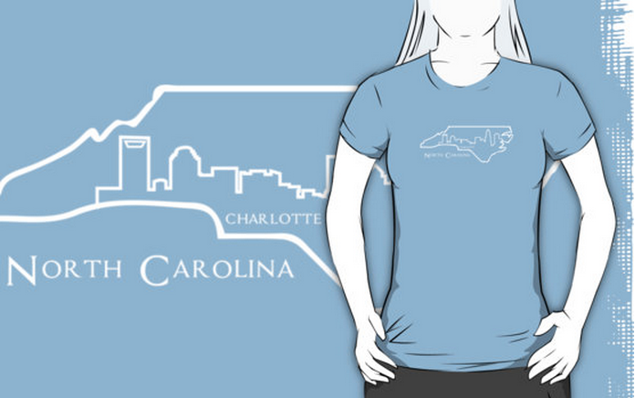 Charlotte NC tee