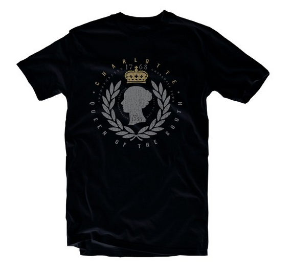 Queen City Gear historical Charlotte tee