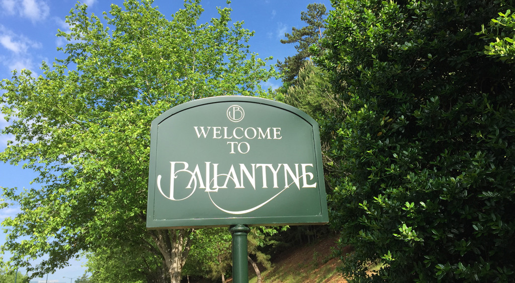 You might live in Ballantyne if…