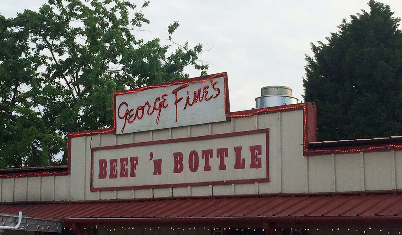 Beef 'n Bottle. It's a Charlotte institution.