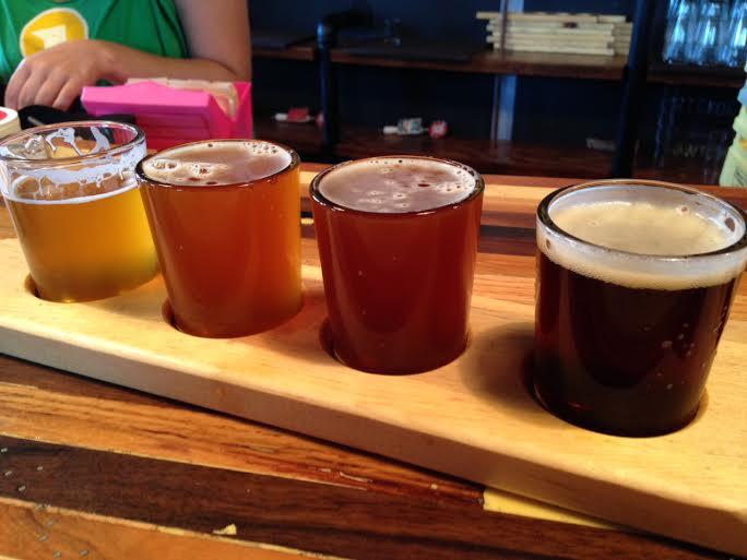 flight-of-beer
