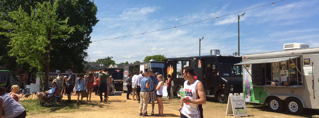 Sampling 11 food trucks in 2 hours at Charlotte Food Fight