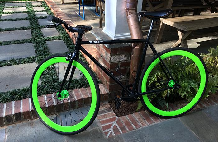 lime-green-bike