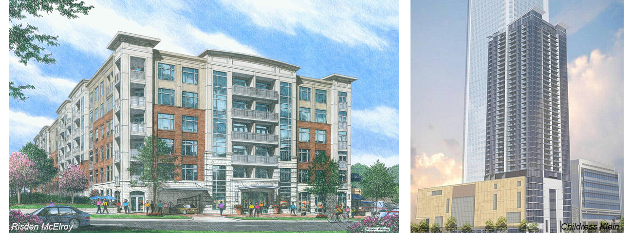 3rd Ward is growing up: Details on the Mint Apartments and Museum Tower