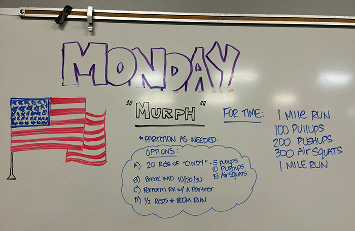 murph so much more than a crossfit workout charlotte agenda
