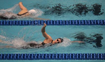 Meet 2 of Charlotte's Team Elite swimmers: Matt Josa and Patricia Castro-Ortega