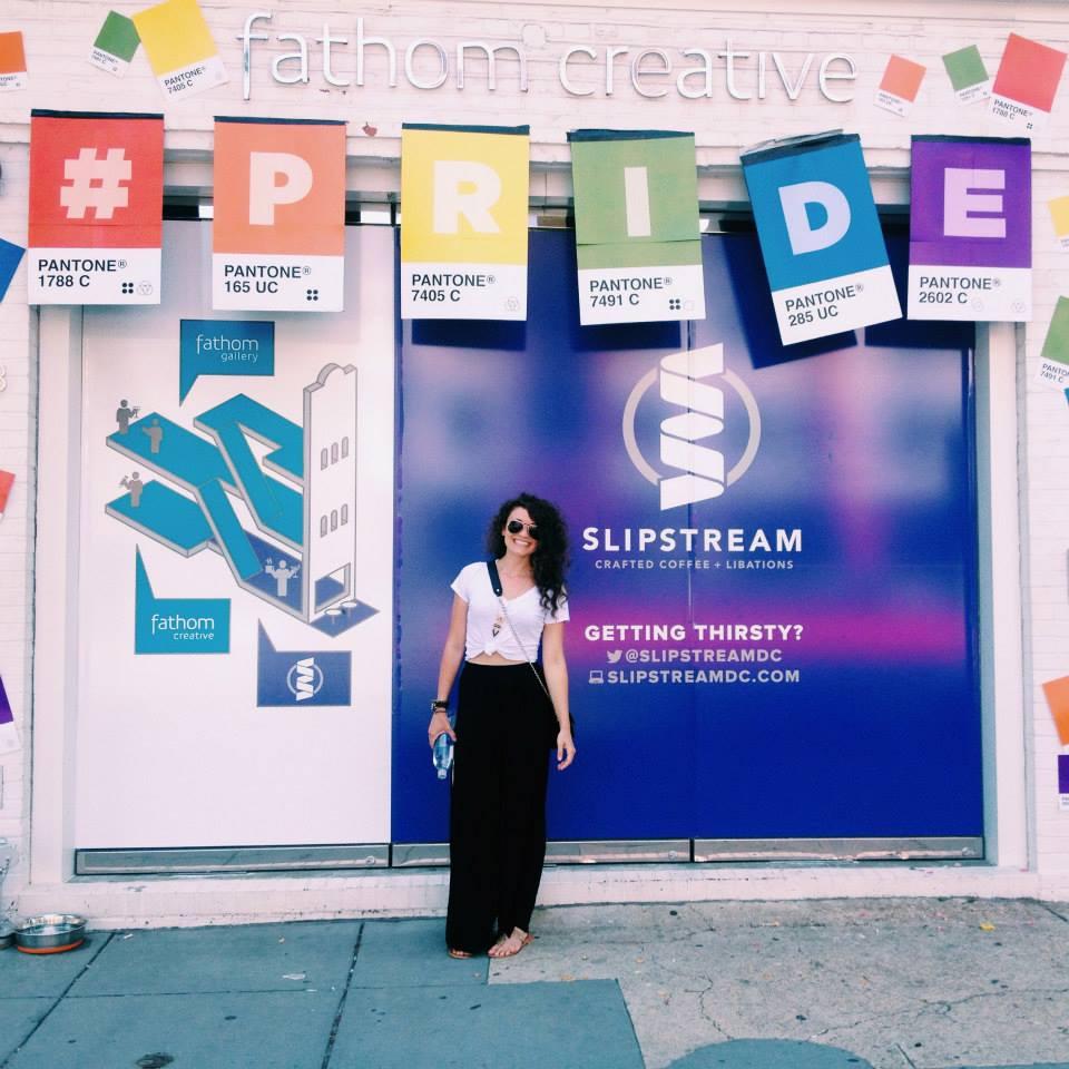 Katie Levans pride DC