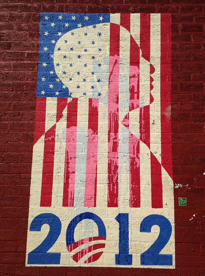 William Puckett Obama Mural