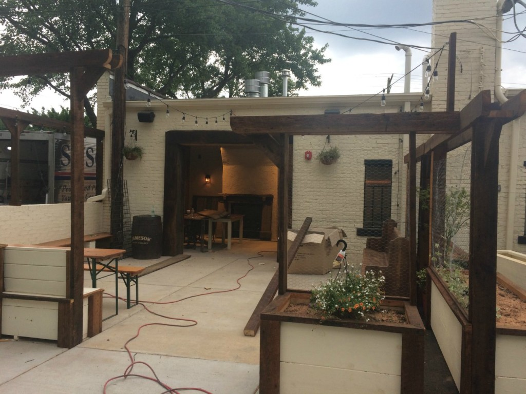 Workman's Friend patio