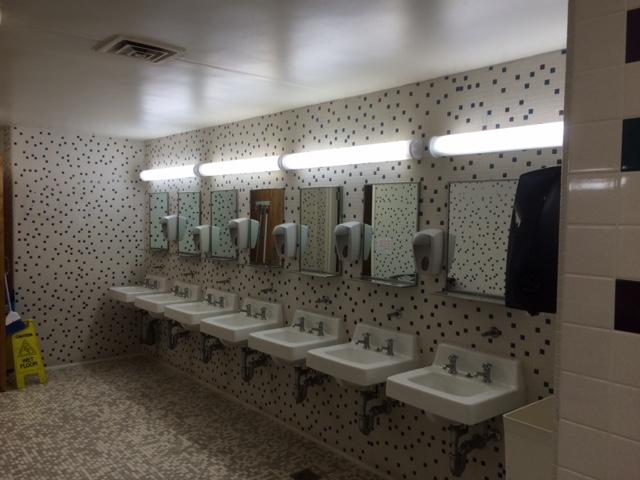 ywca bathroom charlotte