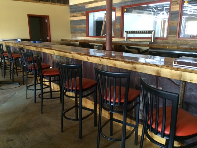 bar at red clay ciderworks