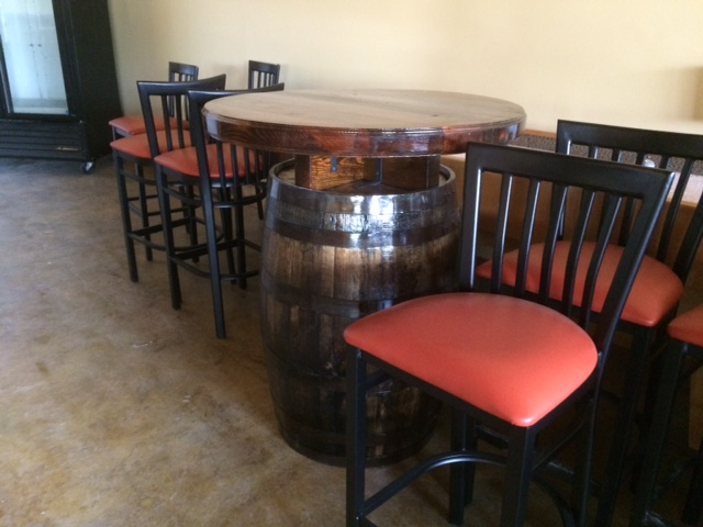 red clay ciderworks tables