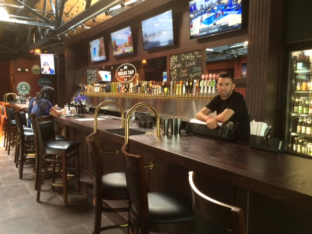 brass tap bar in south end charlotte