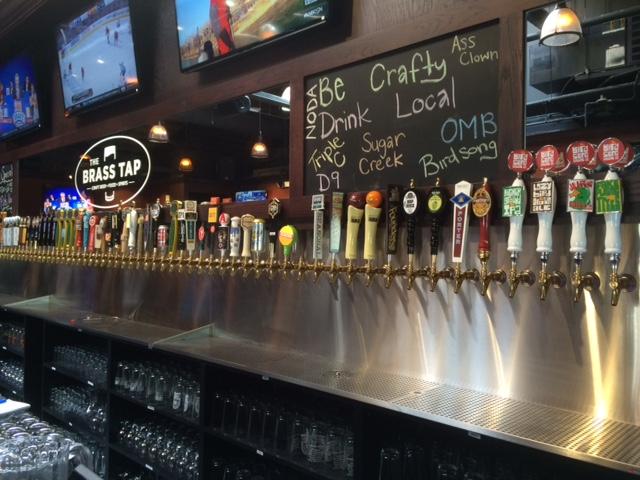 brass tap taps beer