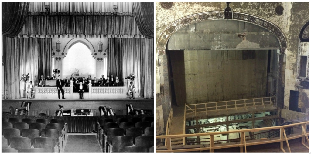 Carolina Theatre before after