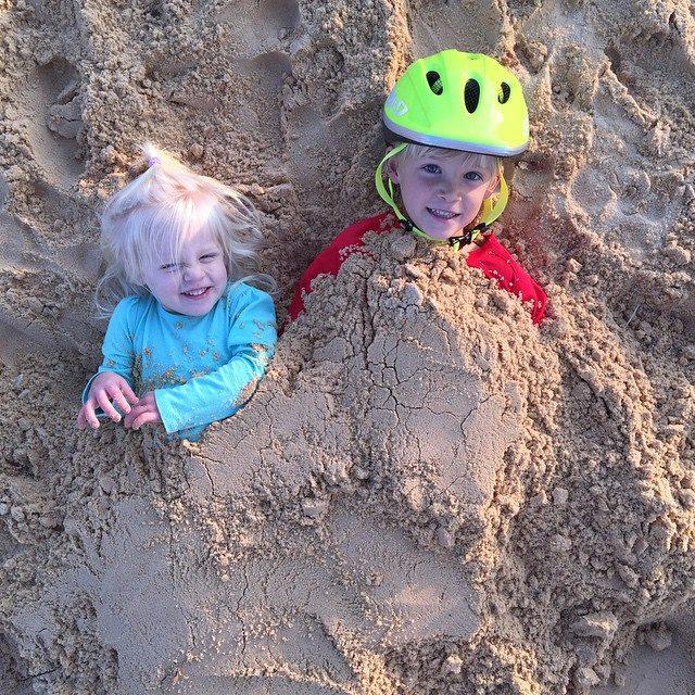 sand burial