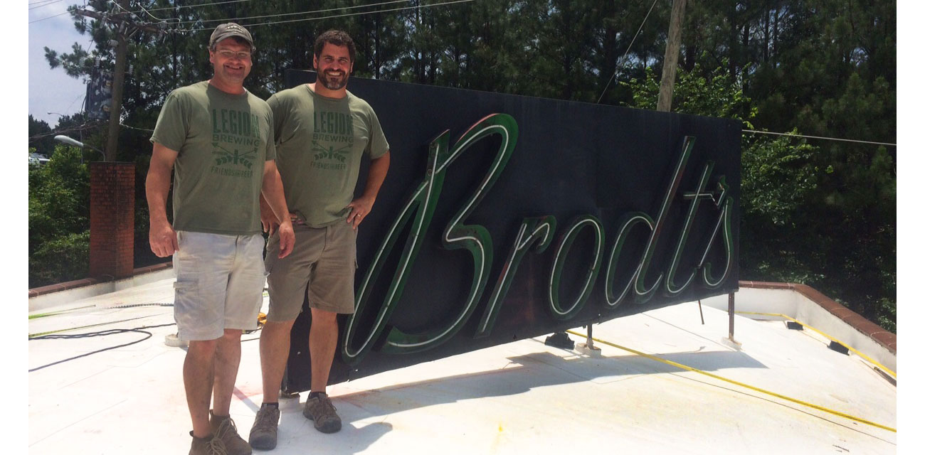 Saving the Brodt Building and sneak peek at Legion Brewing