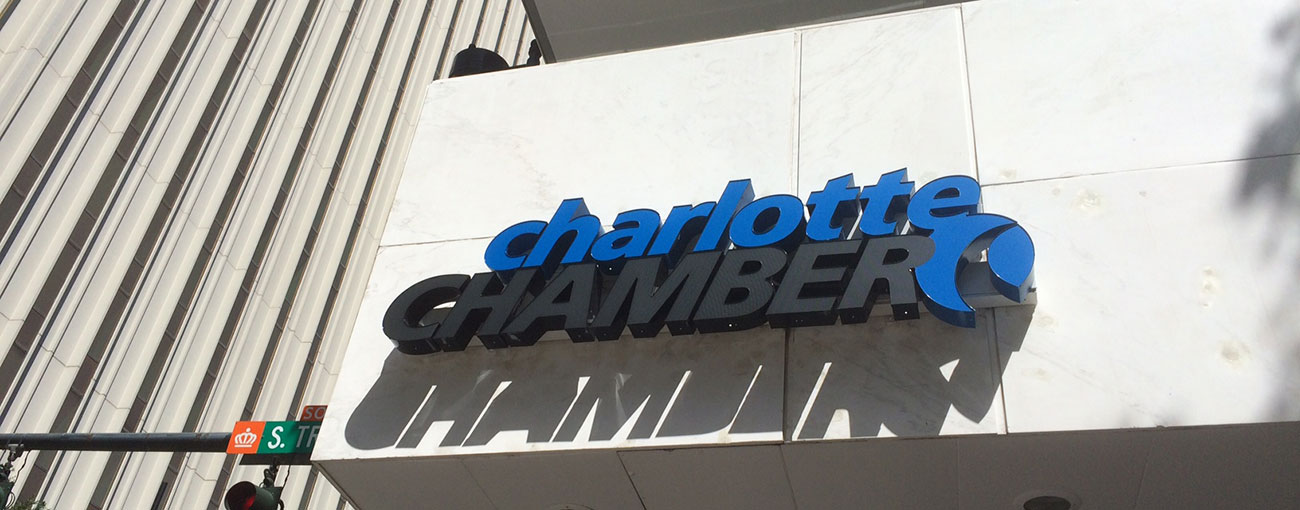 Inside the new Charlotte Chamber digs. 19 photos.