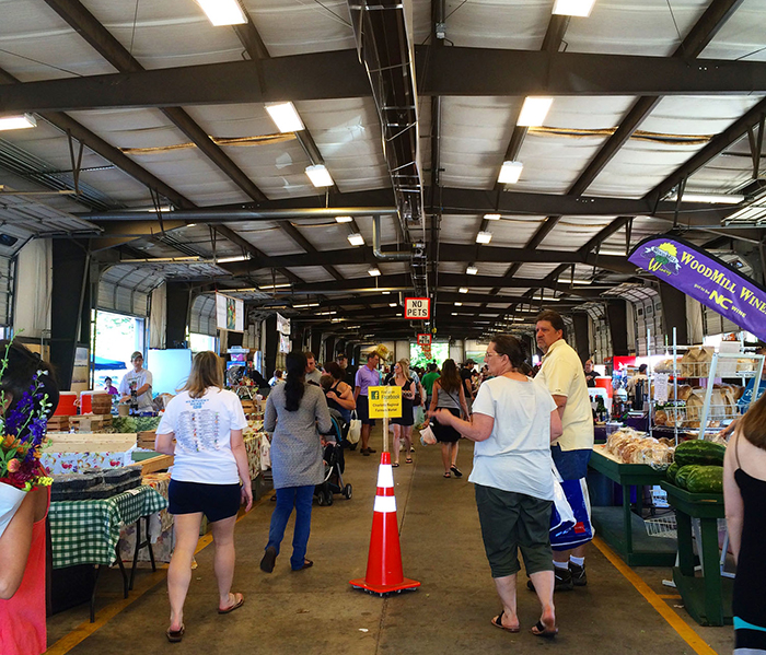 Know your farmer a tour of the top 7 farmers markets in for Fish market charlotte