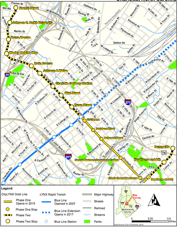 charlotte-streetcar-phase-2-map