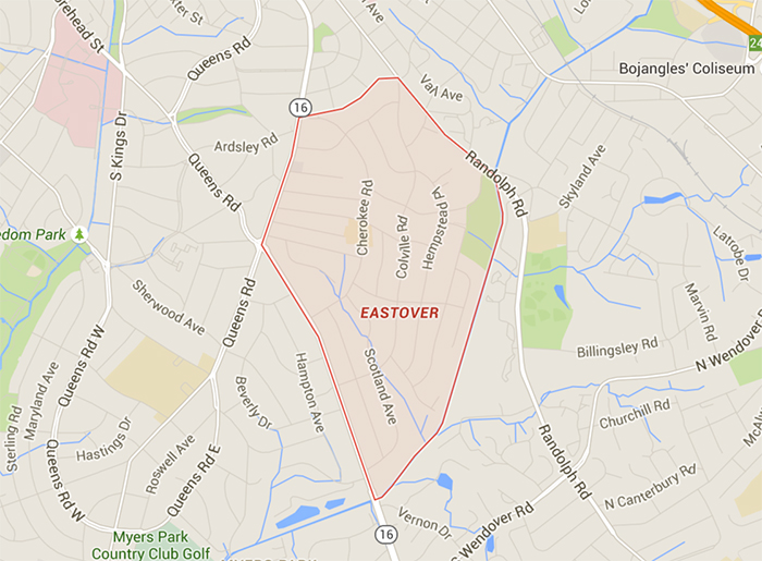 eastover-map