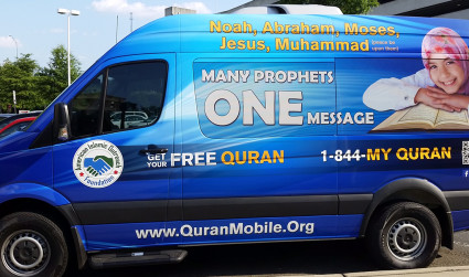Message on wheels: Charlotte group goes mobile to promote religion, dispel misconceptions