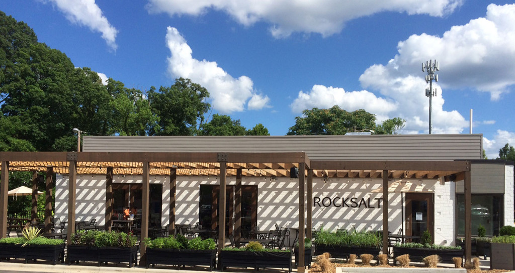 What's a #patiotakeover? ROCKSALT partners with Unknown, NoDa, Sugar Creek & Birdsong