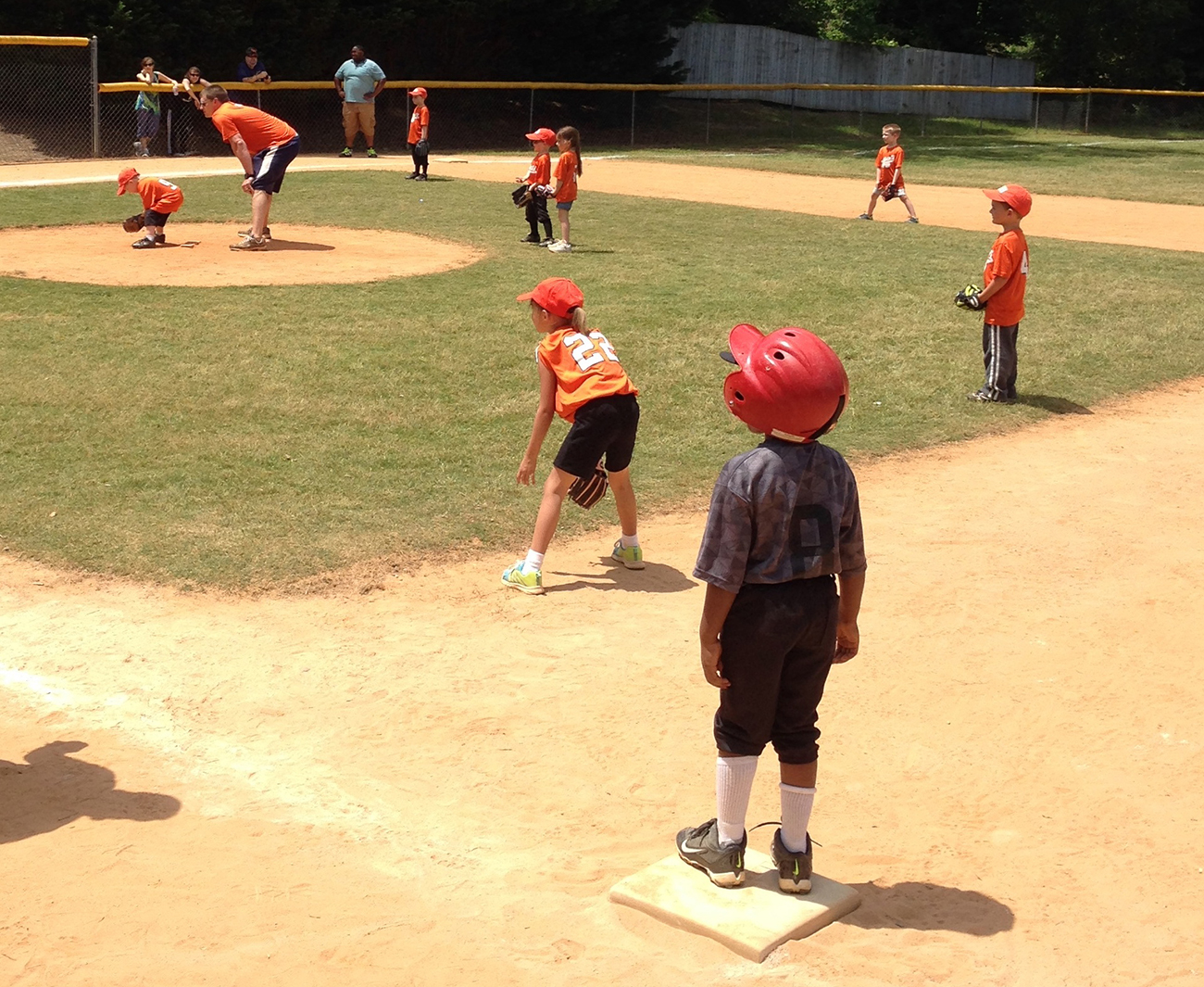 5 things you learn at a T-ball game