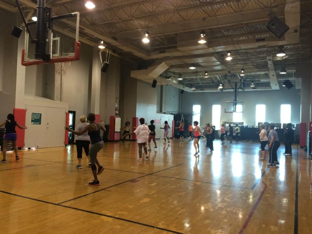 YMCA Charlotte group class