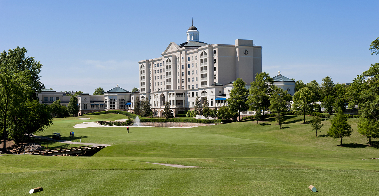 The Ballantyne Hotel is the ultimate destination for a Charlotte staycation