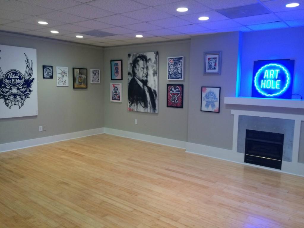 PBR's pop-up gallery Art Hole is now open in NoDa