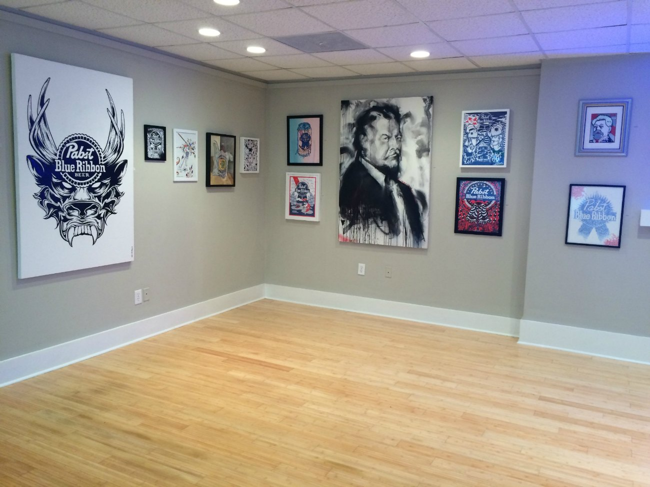 pbr 39 s pop up gallery art hole is now open in noda charlotte agenda. Black Bedroom Furniture Sets. Home Design Ideas