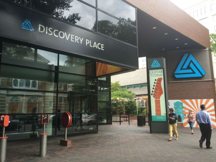 Discovery Place is about to get several million dollars in improvements