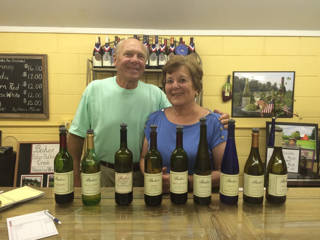 Here's what happens when a couple passes on retirement and opens a winery instead