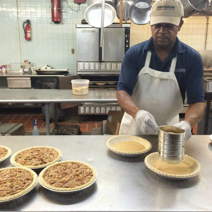Anthony Jones Anderson's pecan pie