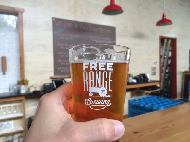 free range brewing pale ale