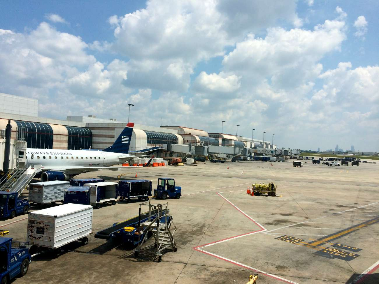 Charlotte's airport is in the middle of $2.5 billion in construction. See the latest on 8 major projects